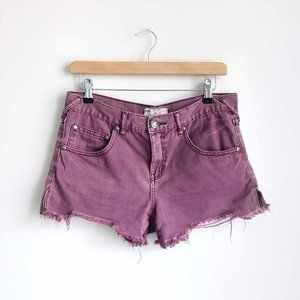 Free People cut-off denim shorts - size 27